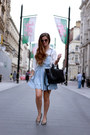 Periwinkle-dungaree-dress-primark-dress-off-white-baukjen-shirt