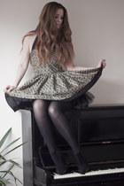 bronze full skirt Jones  Jones dress