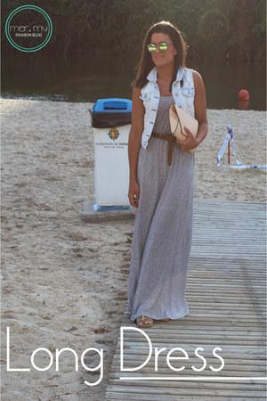 H&M dress - Bershka vest