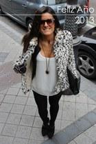 Zara jacket - Zara boots - Zara coat - Parfois bag