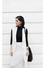 White-zara-shoes-black-jcosstudios-bag-white-tfnc-london-skirt
