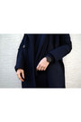 Black-mango-shoes-navy-knitted-the-fifth-via-bnkr-dress
