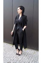 black Zara shoes - black Jessica Buurman bag