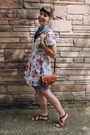 Ivory-floral-lost-in-drawers-dress-army-green-h-m-jacket-brown-h-m-sandals