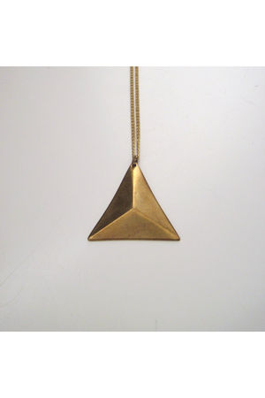 gold metalista jewelry necklace