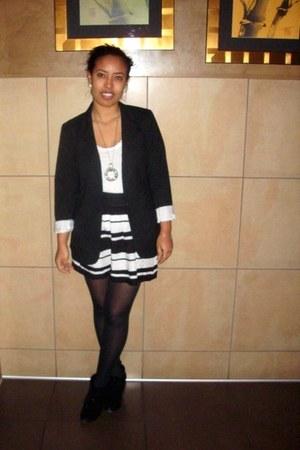 black Target blazer - black Forever 21 skirt