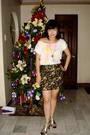 Mango-blouse-landmark-skirt-ichigoshoesmultiplycom-shoes