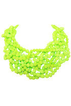 Neon Cluster Necklace