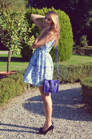 H&M bag - Choies dress - asos heels