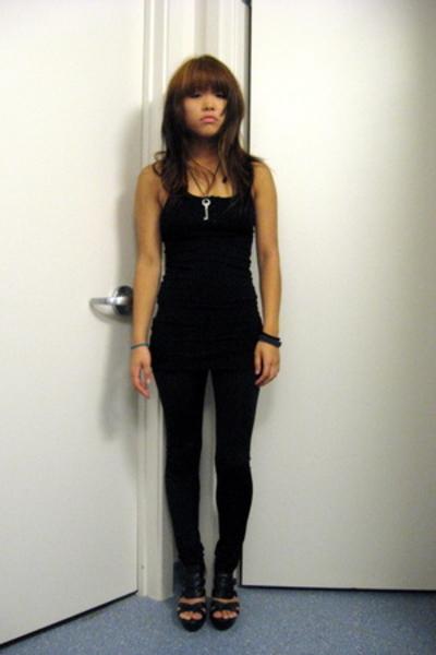 H&M dress - forever 21 pants - calvin klein shoes
