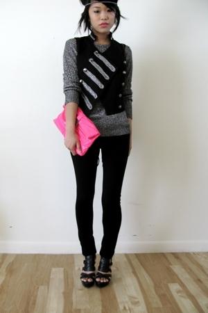pink clutch Target accessories - black calvin klein shoes