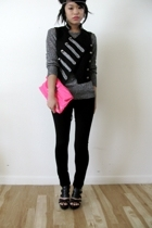 pink clutch Target accessories - black calvin klein shoes