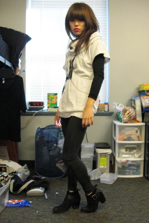 Gap shirt - norwegian wood accessories - Rogan for Target tights - Nine West sho