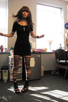 DIY: slasher tights