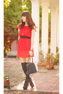 Black-litas-jeffrey-campbell-boots-red-bow-forever-21-dress