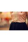 Peach-sequin-glamorous-uk-dress-black-leather-jeffrey-campbell-heels