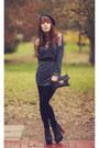 Sequin-oasap-sweater-leather-jeffrey-campbells-boots-velvet-lc-pants