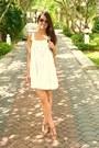 White-white-dress-sportsgirl-dress-camel-tan-heels-sportsgirl-heels