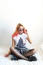 Plaid-xhilaration-skirt
