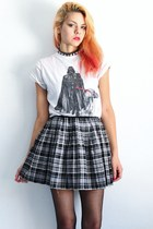 plaid xhilaration skirt