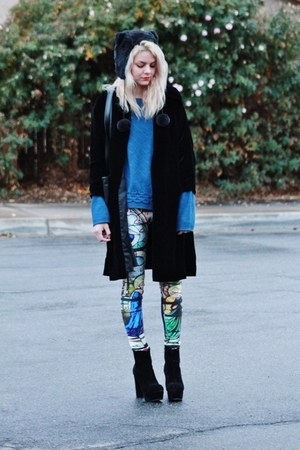 OASAP heels - Aliexpress leggings