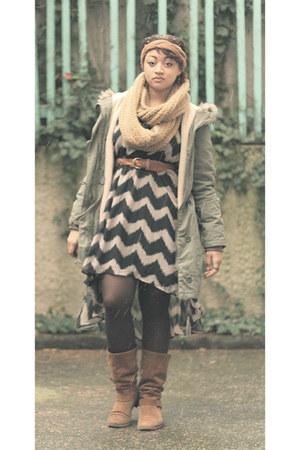 Forever 21 dress - c&a coat
