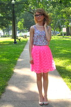 Urban Outfitters skirt - floral H&M top