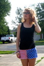 New-yorker-shorts-new-yorker-top-accessorize-bracelet