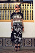 Maple shirt - Maze bag - Urban Outfitters pants - So FAB heels