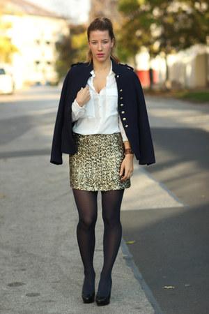 Zara blazer - Mango skirt