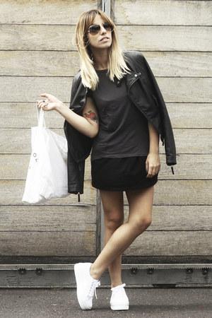 Zara jacket - Marc Jacobs bag