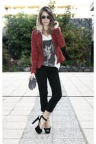 Zara blazer - Zara purse