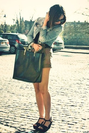 Zara sandals - Topshop jacket