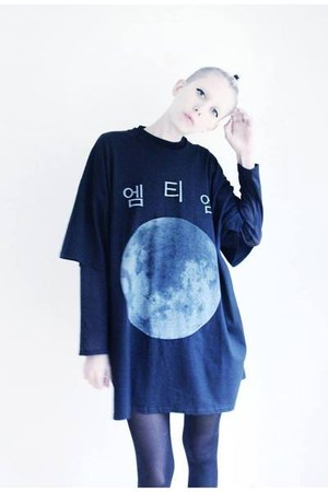black moon Mind the Mustard t-shirt