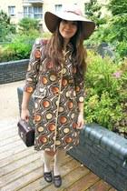 Topshop hat - Zara coat - Primark heels