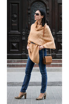 nude dresslily sweater - bronze sammydress bag