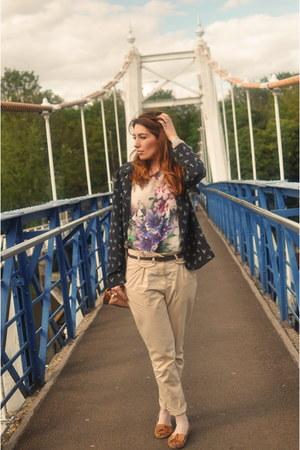 Minkie top - Primark jacket - Topshop pants