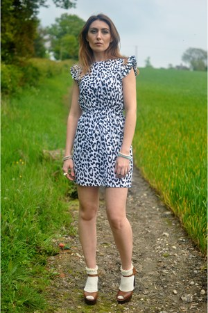 Minkie dress - dune heels