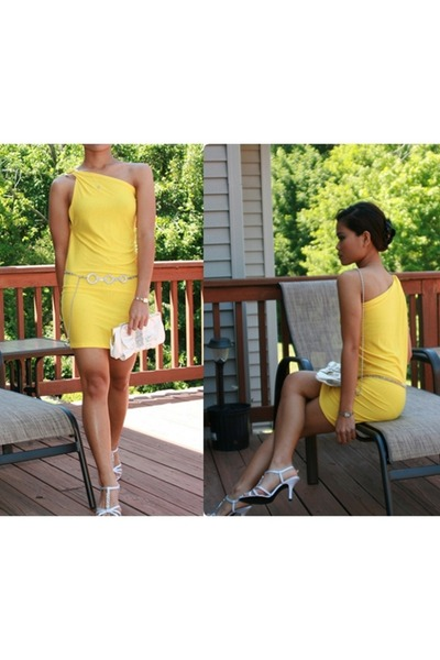 yellow diy dress