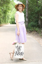 Hobby Lobby bag - catos shoes - Forever 21 hat - Forever 21 shirt