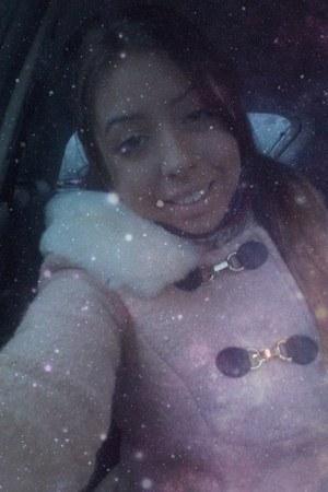 light pink c&a coat