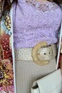 Glitter-belt-white-kate-spade-bag-st-john-skirt