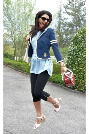 Victorias Secret blazer - H&M blouse