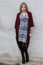 Parfois boots - Cubus dress - GINA TRICOT jumper