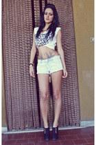 periwinkle shorts