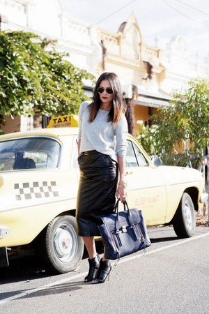 31 Phillip Lim bag - Ray Ban sunglasses - Wittner heels - Witchery jumper