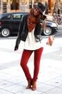 Mango-boots-primark-jeans-black-bugatti-hat-zara-jacket