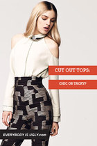 Cut Out Tops: Chic or Tacky?