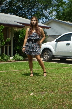 Target dress - Forever21 accessories - Target shoes