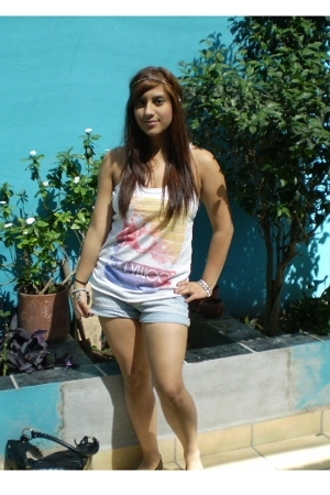 Forever21 top - Forever21 shorts - forever 21 shoes - Urban Outfitters accessori